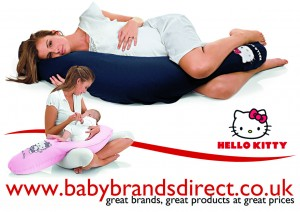 Hello Kitty Nursing & Maternity Pillows | Bervi Distributor