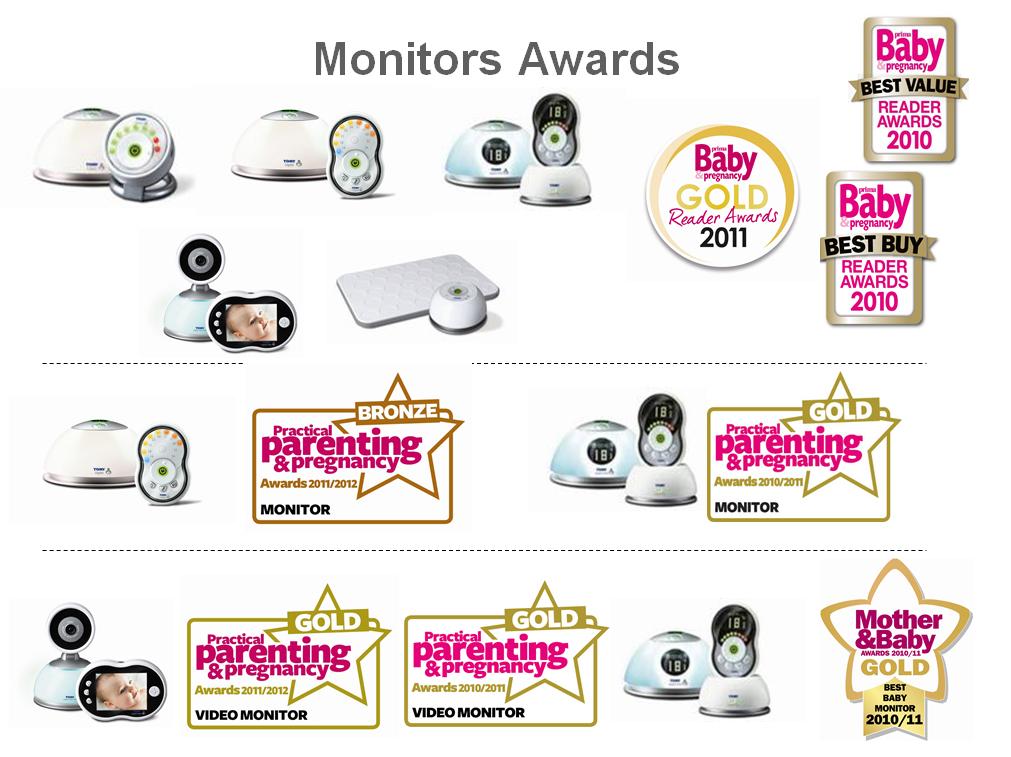 Award Winning Monitors From Tomy