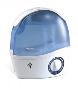 The Vicks Mini-Ultrasonic Humidifier