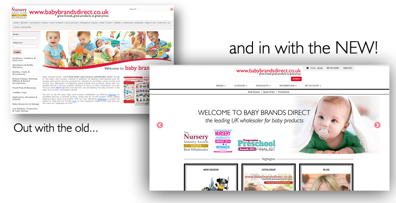 Time to Refresh: Leading Wholesaler, Baby Brands Direct, Has a New Look!