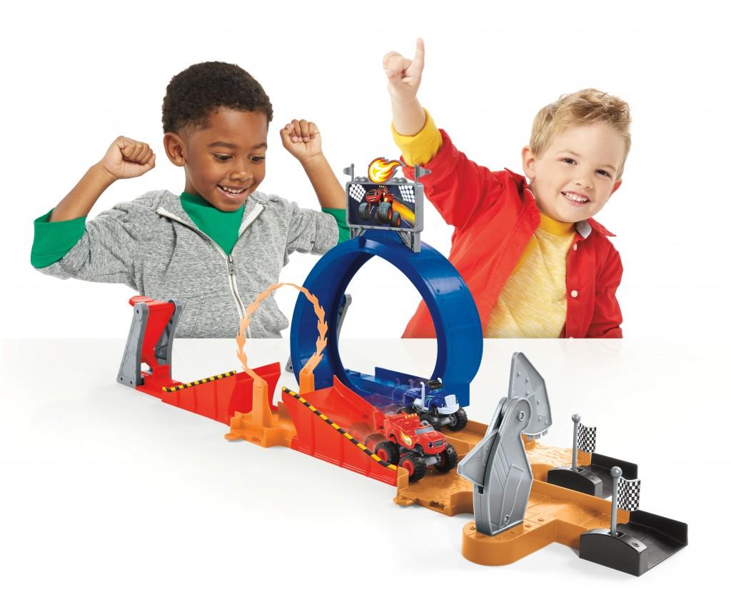 Children S Car Race Track