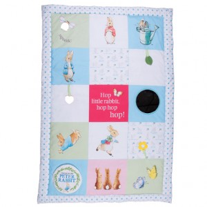 peter rabbit playmat 2 300x300 Peter Rabbit Cot Mobile, Activity Spiral and Playmat   Available NOW!
