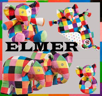 Elmer Soft Toys at Trade Price