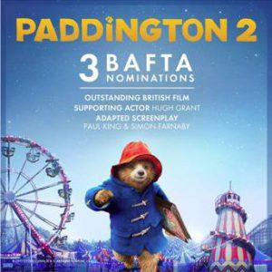 3 BAFTA Nominations for Paddington Bear