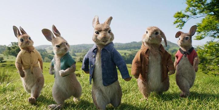 Peter Rabbit Movie Media Update