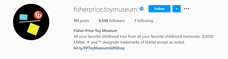 Fisher-Price Launch Virtual Toy Museum