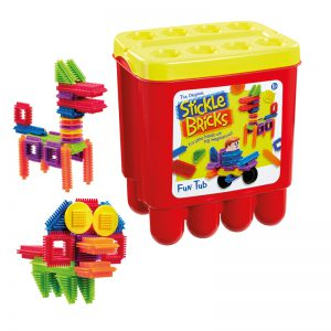 Endless Construction Fun with Stickle Bricks from Flair
