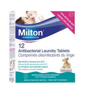 Battle Coronavirus with New Milton Antibacterial Laundry Tablets!