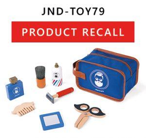 IMPORTANT: Product Recall of Janod Shaving Kit