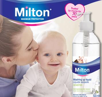 Milton Washing Up Liquid #WhyStockIt?