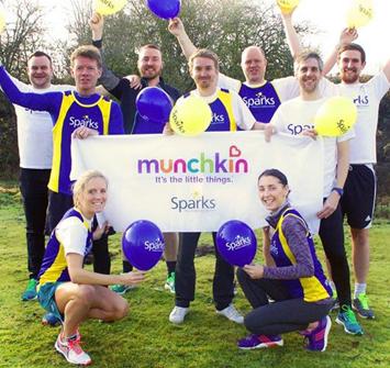 Munchkin Marathon Milers Raise Over £26,000 for Sparks Charity