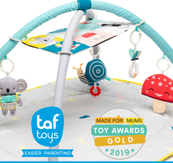 Taf Toys Wins GOLD! All Around Me Gym #WhyStockIt?