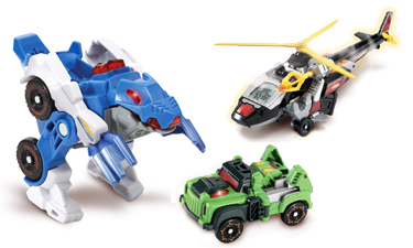 Action Figures and Transformers