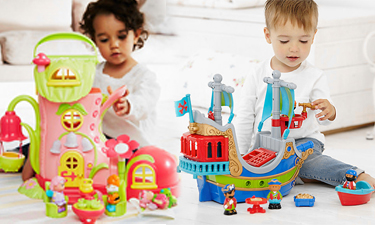 Happy Land Figures and Playsets