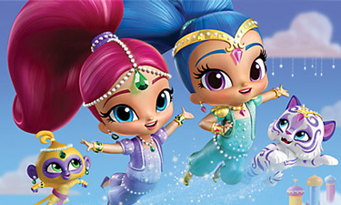 Shimmer and Shine Figures and Playsets