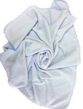 Baby Fleece Blanket Blue