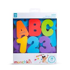 Baby products wholesaler of Munchkin Bath Letters & Numbers