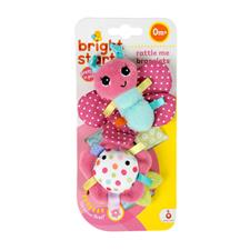 Bright Starts Taggies Pretty in Pink Bracelets