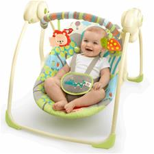 Bright Starts Up and Away Portable Swing