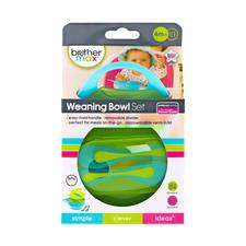 Brother Max Easy Hold Weaning Blue Green Bowl Set