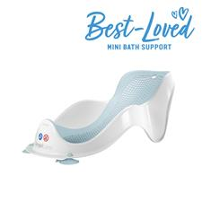 Distributor of Angelcare Soft-Touch Mini Baby Bath Support Aqua