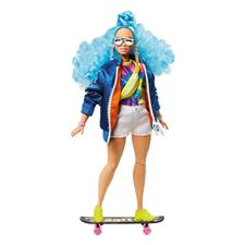 Distributor of Barbie Fashionista EXTRA Doll - Blue Afro Hair