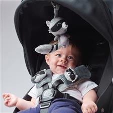 Distributor of Diono Harness Soft Wraps & Linkie Toy Raccoon