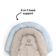 Distributor of Diono Head Support Cuddle Soft Blue