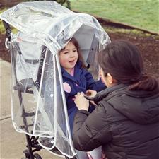 Distributor of Diono Stroller Rain Cover - Clear