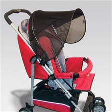 Distributor of Diono Sun Car and Stroller Seat Shade - Black