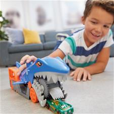 Distributor of Hot Wheels City Shark Chomp Transporter