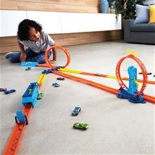 Distributor of Hot Wheels Track Builder Adjustable Loop Pack