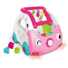 Distributor of Infantino Sensory 3-in-1 Discovery Car Pink