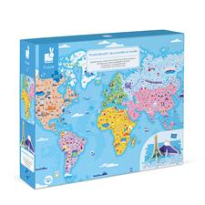 Distributor of Janod Educational Puzzle World Curiosities