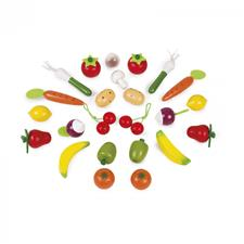 Distributor of Janod Fruits And Vegetables Basket 24Pc