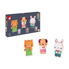 Distributor of Janod Funny Magnets Pets