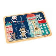 Distributor of Janod Sophie La Girafe Chunky Puzzle 5pc