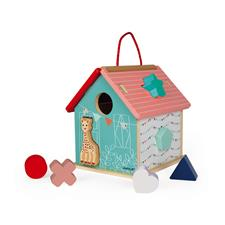 Distributor of Janod Sophie La Girafe Shape Sorting House