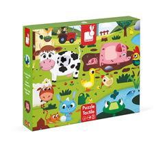 Distributor of Janod Tactile Puzzle Farm Animals