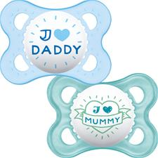Distributor of MAM Style (I Love) Soother 0m+ 2Pk