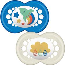 Distributor of MAM Style (I Love) Soother 6m+ 2Pk