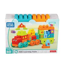 Distributor of Mega Bloks ABC Learning Train 60pc