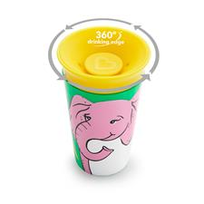 Distributor of Munchkin Miracle 360 WildLove Sippy Cup Elephant 266ml