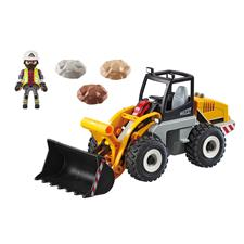 Distributor of Playmobil City Action Construction Front End Loader with Movable Bucket
