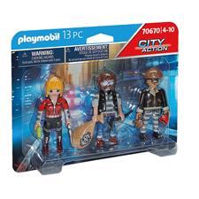 Distributor of Playmobil City Action Police Thief Figure Set