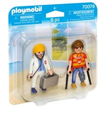 Distributor of Playmobil City Life Doctor and Patient Duo Pack
