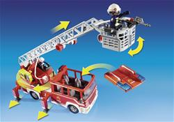 Distributor of Playmobil Fire Engine with Ladder and Lights and Sounds