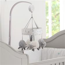 Distributor of Silvercloud Counting Sheep Cot Mobile