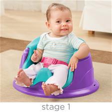 Distributor of Summer Infant 3-Stage Super Seat™ Forest Friends Pink