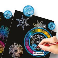 Distributor of The Original Spirograph Scratch and Shimmer Set